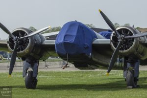 The Blenheim covered up