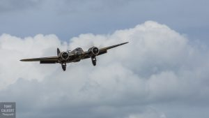The Blenheim on final