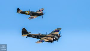 Bristol Blenheim and MK1 Spitfire