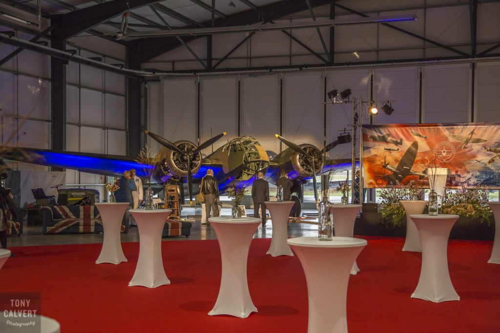 Blenheim at ARC Hangar opening
